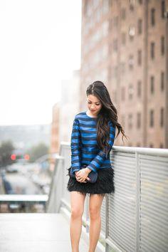 Shades of Blue :: Sapphire stripes