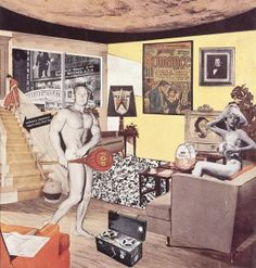 Richard Hamilton - Just what is it that makes today's homes so different, so appealing?