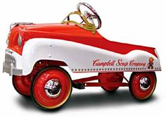 Campbell Soup Pedal Car