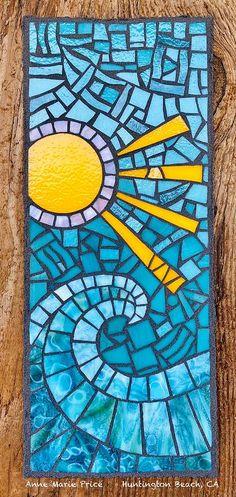 Paper Mosaic, Mosaic Tile Art, Mosaic Artwork, Mosaic Art Projects, Mosaic Crafts, Mosaic Ideas, Mosaic Designs, Mosaic Patterns, Easy Mosaic