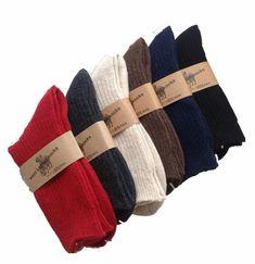 Lian LifeStyle Men's 2 Pairs Knitted Wool Crew Socks One Size 8-11 Men's Clothing Thigh High Leg Warmers, Thigh Socks, Thigh High Tights, Ankle Socks, Thigh Highs, Combat Boots Socks, Boot Socks, Heel Boots, Womens Wool Socks