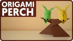 Origami Perch (Kunihiko Kasahara)