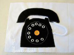 Telephone Quiet Book