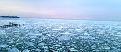 A very icy Chesapeake Bay!