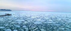 A very icy Chesapeake Bay!