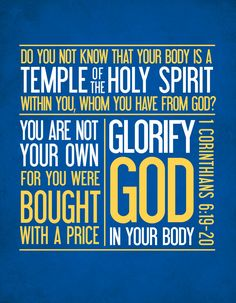 In the Word Wednesday: Your Body as a Temple   makinghealthahabit