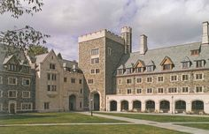 i like how the buildings look like they could've been castles.- whitman college