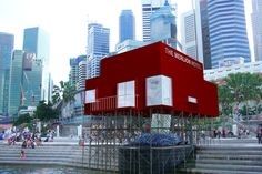 Tatzu Nishis Hotel That Ate Singapores Merlion - Scene Asia - WSJ