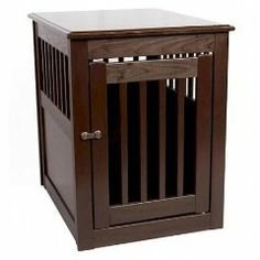 Dynamic Accents 42166 Large End Table Crate Mahogany