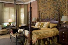 Designed by Dee Marksberry, Gage-Martin Interiors Tampa Bay Dream Master Bedroom, Tudor Style, English Style, Tampa Bay, Interiors, Interior Design, Bliss, House, Inspiration