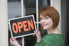 Grants and loan programs are available for women hoping to start a business.