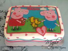 Pastel Peppa Pig