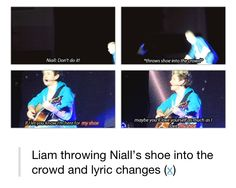 imagine how catching his shoe tho. Imagine the lunatic laughter. Imagine the tears. Imagine the screams. Imagine the extra pushing and shoving to get a hold of a leprechauns shoe. Zayn Malik, Niall Horan, One Direction Humor, I Love One Direction, Love Of My Life, My Love, Irish Boys, 1d And 5sos, I Love Music