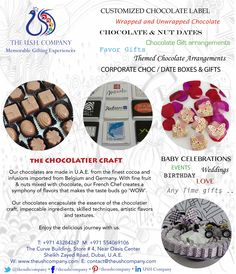 Chocolates..! Custom Chocolate, Chocolate Gifts, Chocolates, Favors, How To Memorize Things, How To Make, Crafts, Food, Personalised Chocolate