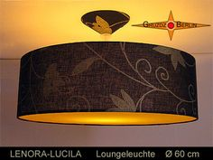 Leuchte LENORA-LUCILA Ø 60 cm Hängelampe Diffusor