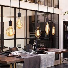Calex Giant Retro Hanglamp in 2020 Pendant Lamp, Pendant Lighting, Corridor Design, Sweet Home, Retro Lamp, House Rooms, Led Lamp, Home Interior Design, Room Inspiration