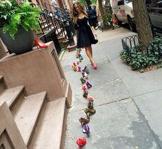 Sexo en Nueva York y los zapatos de Carry