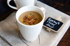 Jerusalem Artichoke and Roasted Garlic Soup - the British Larder