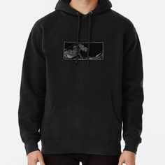 Great Wave Black and White Aesthetic. • Millions of unique designs by independent artists. Find your thing. Fleece Hoodie, Pullover, Aesthetic Hoodie, Black And White Aesthetic, Sweatshirt Outfit, Black Power, Hoodies, Sweatshirts, Coffee Shop