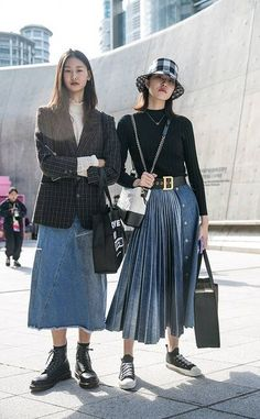 The Best Street Style From Seoul Fashion Week Spring 2020 - 2020 fashion trends street styles - Seoul Fashion, Korea Fashion, Asian Fashion, Look Fashion, Fashion Outfits, Fashion Photo, Tokyo Fashion, Cool Outfits, Fashion Blogs