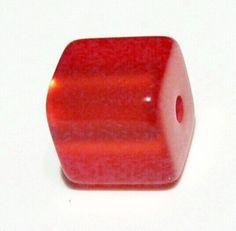 Polariswürfel 6mm rot