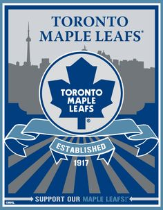 Toronto Maple Leafs, bleed white and blue Hockey Stuff, Hockey Mom, Hockey Teams, Sports Teams, Ice Hockey, Man Cave Essentials, Maple Leafs Hockey, International Scholarships, Hockey Pictures