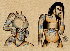 Tattoo American Traditional, Traditional Tattoo Girls, Traditional Tattoo Black And White, Traditional Tattoo Filler, Traditional Tattoo Inspiration, Traditional Tattoo Old School, Traditional Flash, Traditional Tattoo Painting, Traditional Tattoo Flash Art