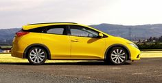 2014 Honda Civic Estate Wagon Rendering