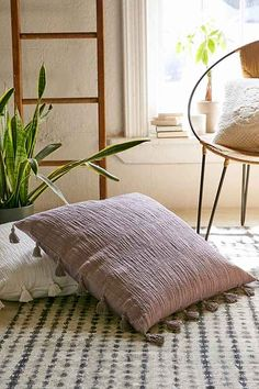 Magical Thinking Hudson Oversized Tassel Pillow - Urban Outfitters