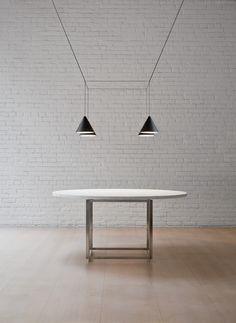 String Light Cone head - designed by Michael Anastassiades, 2014 - FLOS