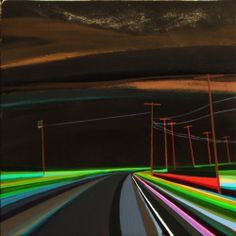 """Grant Haffner """"Goodnight Napeague""""  Oil on panel, 2012  12 x 12 inches Signed and dated verso"""