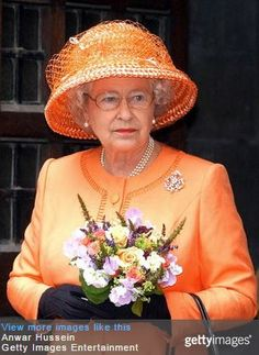 When Queen Elizabeth was spotted at Ascot last week in a peach textured hat and coat, it brought up repeated questions about why she seldom wears this colour. Orange is one of the most infrequently...