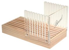 $15.24-$21.99 Norpro 370 Bread Slicerand Guide  with Crumb Catcher - Slice bread without the mess. The crumb catcher eliminates the mess.  Achieve uniform slices using the acrylic slicing guide.  The bread slicer is easy to assembly, clean and maintain. http://www.amazon.com/dp/B00004UE6T/?tag=pin2pet-20