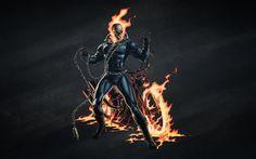 Ghost Rider Motorcycle, Lego Motorbike, Monster Motorcycle, Marvel Comics, Dark Comics, Ghost Rider Tattoo, Skull Fire, Bike Logo, Ghost Rider Marvel