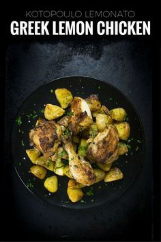 Greek lemon chicken is known as kotopoulo lemonato in Greece but don't let that intimidate you. This delicious recipe is so easy to make.
