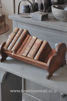 wooden bookrest