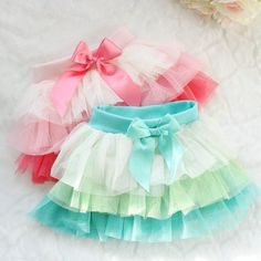 Colorful tutus girls skirt style kids fashion kids clothes children's fashion photography