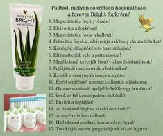 Forever Life, Forever Living Products, Aloe Vera, Hungary, Rihanna, Tooth, Bright, Mom, Healthy