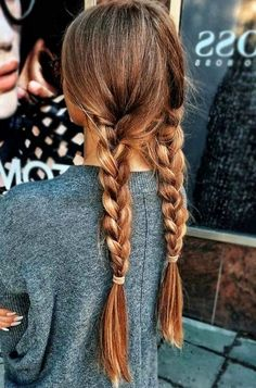 27 Cute and Easy Long Hairstyles for School - Pinmagz Teen Girl Hairstyles, Formal Hairstyles For Long Hair, Cute Hairstyles For School, Winter Hairstyles, Cute Easy Outfits For School, Hair Ideas For School, Simple Hairstyles For Long Hair, Girls Hairdos, Pretty Braided Hairstyles