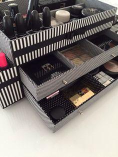 Caixa maquiagem, makeup, organizer
