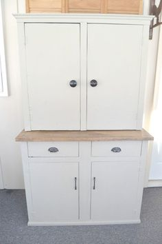 How To Turn A Garage Cabinet Into A Farmhouse Hutch