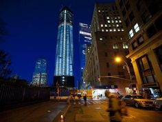 The World Trade Center One nears it's proposed top - Amazing story and wonderful example of America's thriving spirit