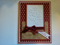 Card Corner by Candee: Holly Christmas Card