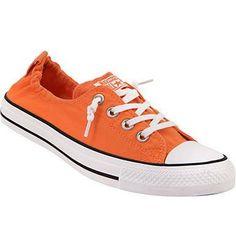 Orange Converse Red Mango Coral Shoreline Slip on Kicks w  Swarovski Crystal  Rhinestones Bling Chuck 92c31df10