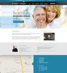 new Website for dentist by Monly