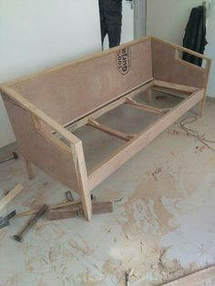 Latest Sofa Designs, Sofa Frame, Furniture Design, Bench, House Design, Storage, Diy, Home Decor, Sofa Chair