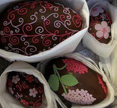 ovos de chocolate para levar!