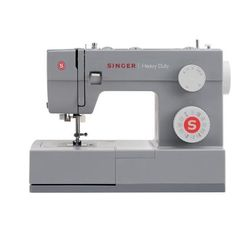 The Singer 4432 Heavy Duty sewing machine is a true workhorse. With a heavy duty metal interior frame, stainless steel bedplate, extra-high sewing speed and Sewing Machines Best, Sewing Machine Reviews, Singer Tradition, Machine Quilting, Machine Embroidery, Singer Facilita, Husqvarna Viking, Steel Bed, Thing 1