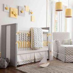 35 meilleures images du tableau Chambre bébé jaune gris | Baby boy ...