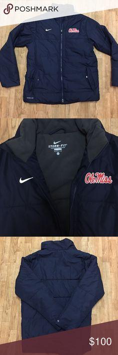 Ole miss Nike storm fit winter jacket Ole miss Nike storm fit winter jacket Nike Jackets & Coats Puffers